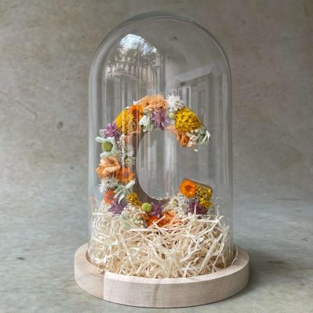 Letra de flores preservadas FRESH XS