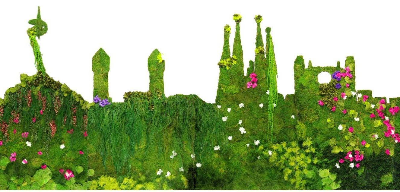 Comprar jardines verticales interiores artificiales y for Jardines artificiales