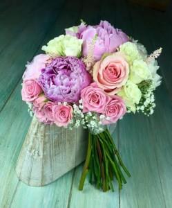 Ramos de flores naturales para novias