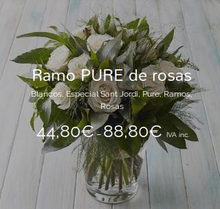 Ramo PURE de rosas