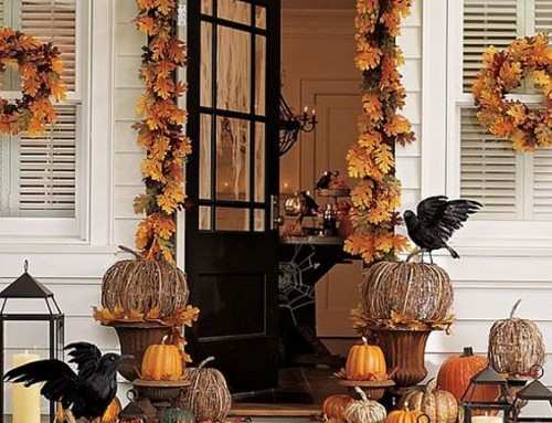 10 ideas originales para decorar tu casa en Halloween con elementos naturales