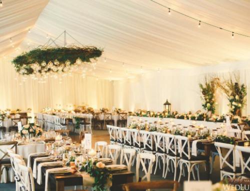 Tendencias en decoración floral para bodas 2017