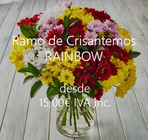 Ramo Crisantemos Ranboiw Madrid