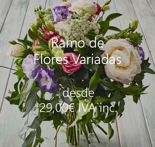 Ramo de flores variadas - flores madrid
