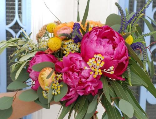 Las flores preservadas para ramos de novia