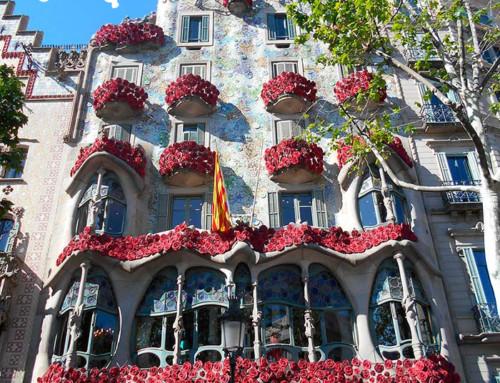 La rosa de Sant Jordi: la leyenda en la casa Batlló